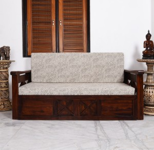 Home Edge Murphy Double Solid Wood Sofa Bed