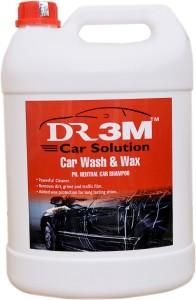 DR3M CAR WASH & WAX SHAMPOO 5LTR. Car Washing Liquid