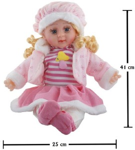 a374f56ca Mantavya Soft Girl Singing Songs Baby Doll Toy Pink Best Price in ...