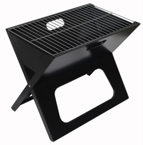 Sukot Outdoor Folding Barbecue Grill Camping picnic Garden charcoal BBQ grills Burn oven stove Iron Salad Fork, Roast Fork