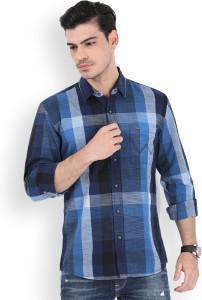 54fad5b4 Wrangler Men s Checkered Casual Shirt Best Price in India | Wrangler ...