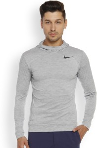 baf430a011e0 Nike Full Sleeve Solid Men s Sweatshirt Best Price in India