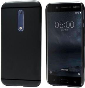 size 40 a01f7 6f5da XOLDA Back Cover for Nokia 8Black, Rubber, Plastic