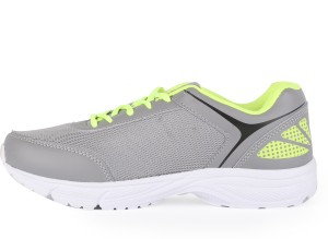 Slazenger ZETA Running Shoes Grey Green Best Price in India ... ee7131e1a610c