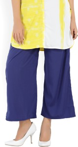 Aurelia Relaxed Women Blue Trousers