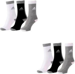 Adidas Men & Women Crew Length Socks