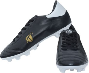Gowin By Triumph ACE Black, White Football Shoes