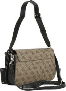801f85eaede7 Guess Girls Multicolor PU Sling Bag Best Price in India