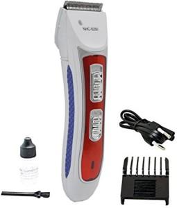DCS Nova NHC-6250 Blue Color Rechargeable Barber Scissors Professional Men  Electric Shaver Adult Razor 4d9b8e11b0db