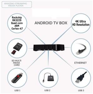 VibeX ® MXQ Pro 4K Ultra HD TV Box - KODI, Android 5 1, 64Bit Amlogic S905  Quad Core, H 265 4K Decoding Media Streaming DeviceBlack