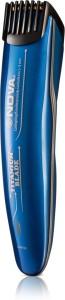 Nova NHT 1080-00 20 Lock settings Titanium Coated Trimmer For Men
