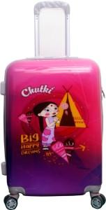traveller choice Trolley bag CHUTKI 22 Expandable  Cabin Luggage - 1800 inch
