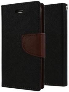 Loopee Flip Cover for Mi Redmi Note 3 Brown