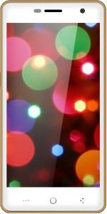 Celkon Diamond UFEEL 4G (White & Gold, 16 GB)