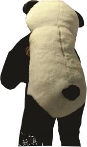b6a94f509b9 AVS 5 Feet Stuffed Spongy Hugable Cute Smile Panda Teddy Bear (Black White)  - 152 cmBlack White