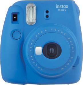 Fujifilm Instax Mini 9 Cobalt Blue Festive Pack Instant Camera
