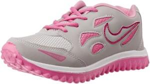 Bella Toes 014-Grey pink-5 Sneakers For Women