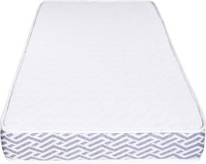 Sleepsutraa First Sense 4 inch Single High Resilience (HR) Foam Mattress