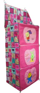 Love Baby DKBC13 Pink Fabric Cupboard
