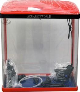 Aquapetzworld Sobo So 400f Aquarium Fish Tank 30l Red Rectangle