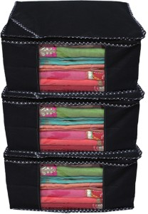 351f21f84ef3 Kuber Industries Designer Non woven Saree cover  Saree Bag  Storage bag Set  of 3