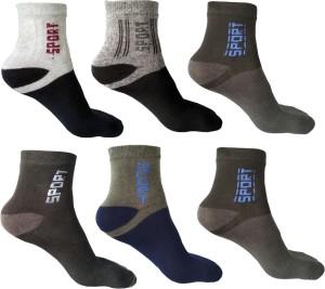 ODDEVEN Men & Women Ankle Length Socks
