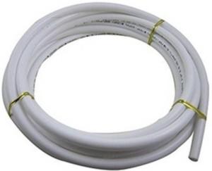 PK Aqua 3/8? Inch Big Diameter Size RO Wire Pipe 5m Length Hose Pipe White Tube Hose Pipe