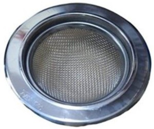 PK Aqua -4 Pcs Kitchen Sink Waste Filter Strainer Stainless SteelMetal Cup Hose Pipe