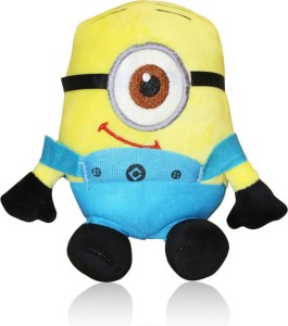 AKSHAT 3D anime Despicable Me One-eyed Minion Cute Plush toys About 9