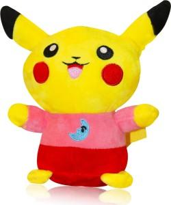 AKSHAT pikachu soft toy multicolour - 9 inch (Multicolor)  - 10 cm