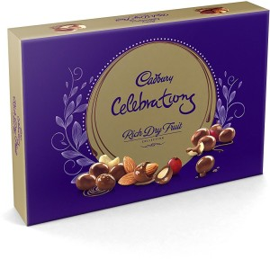 Cadbury Rich Dry Fruit Collection Crackles