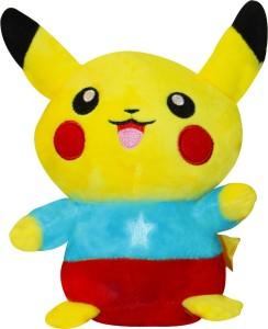AKSHAT Pokemon Pikachu Plush Toy Multicolor - 9 inch (Multicolor)  - 10 cm