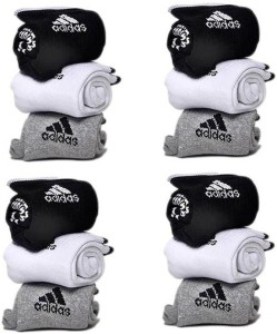 Adidas Men & Women Printed Ankle Length Socks