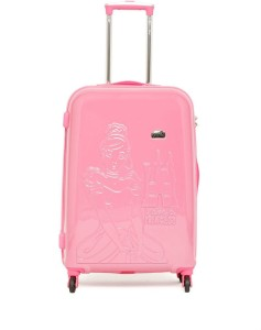 Gamme Disney Pink Princess Emboss Kids Trolley Bag Check-in Luggage - 24 inch