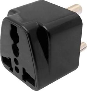 Brand one mini Travel 3 pin multi plug worldwide adaptor 6 A Three Pin Socket