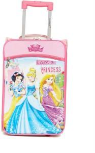 Gamme Disney Princess Kids Soft Pink Trolley Bag Cabin Luggage - 17 inch