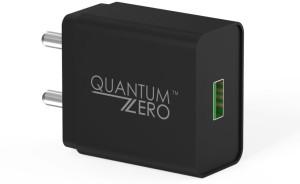 QuantumZERO QZ WC20 Mobile Charger Black  QuantumZERO Wall Chargers