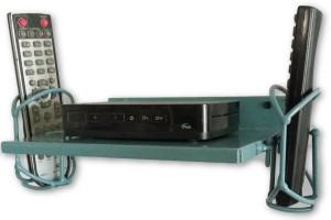 SAITECH1 SETUP BOX STAND / REMOTE STAND /SET TOP BOX STAND Iron Wall Shelf