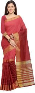 Inddus Woven Fashion Cotton Saree