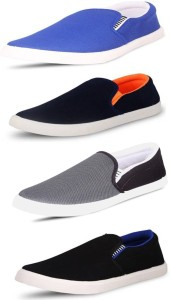 SCATCHITE Casuals, Mocassin, Loafers, Sneakers, Canvas Shoes, Slip On Sneakers