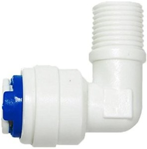 PK Aqua PK Aqua 3 Pcs RO Membrane Housing Elbow Connector RO Models-1/4? x 1/8?. Hose Pipe