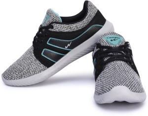 cbc515882 Campus BATTLE X 13 Running Shoes Black Blue Best Price in India ...