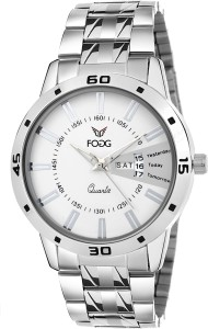 Fogg 2038-WH Day and Date Watch  - For Men