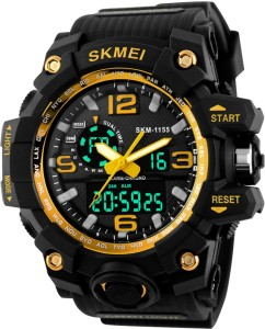 Skmei Multifunctional Dual Time Sports Watch  - For Men