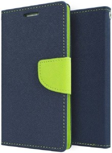 low priced 74c6e 6a22d Stunning Flip Cover for Lenovo K8 PlusBlue, Green, Artificial Leather