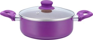 Wonderchef Royal Velvet Casserole With Lid 24cm Casserole