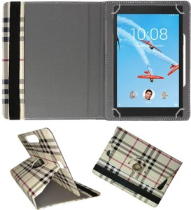 Fastway Book Cover for Lenovo Tab 4 8 Plus 16 GB 8 inch with Wi-Fi+4G Tablet