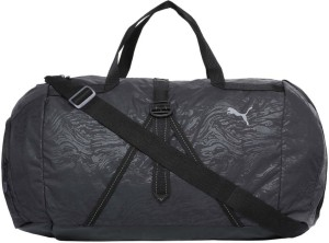 9b23edfb84ed Puma Fit AT Sports Duffle Gym Bag Black Best Price in India