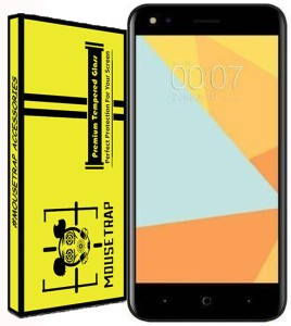 MOUSETRAPS Tempered Glass Guard for Micromax Bharat 4
