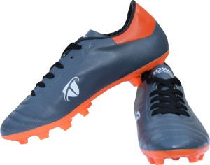 Gowin By Triumph Ace Grey/Orange Football Shoes